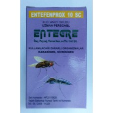 ENTEFENPROX 10 SC Sivrisinek, Karasinek 50 ML